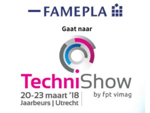 Famepla gaat naar Technishow 2018