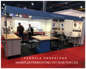 Famepla Nederland aanwezig bij vakbeurs Technishow 2018